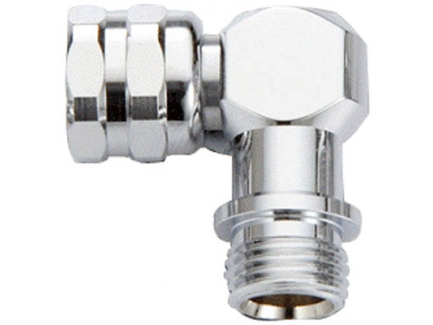 Adaptor Swivel 90 grade UNF (3/8
